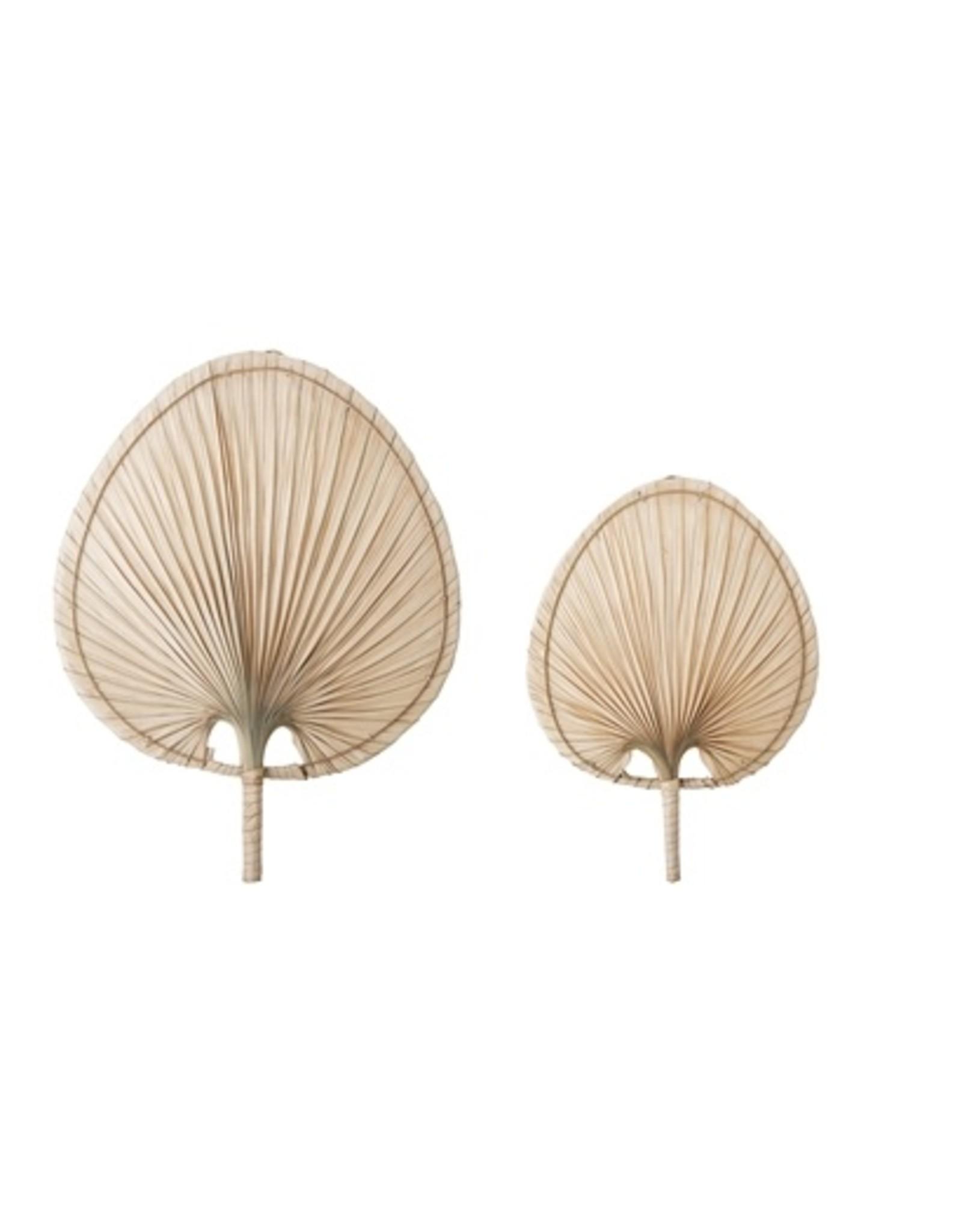 Muur deco palm blad Set van 2