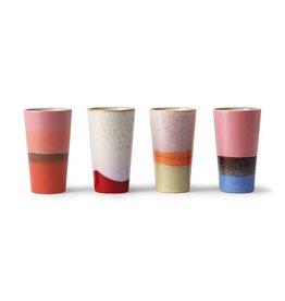 Set van 4 Latte tassen