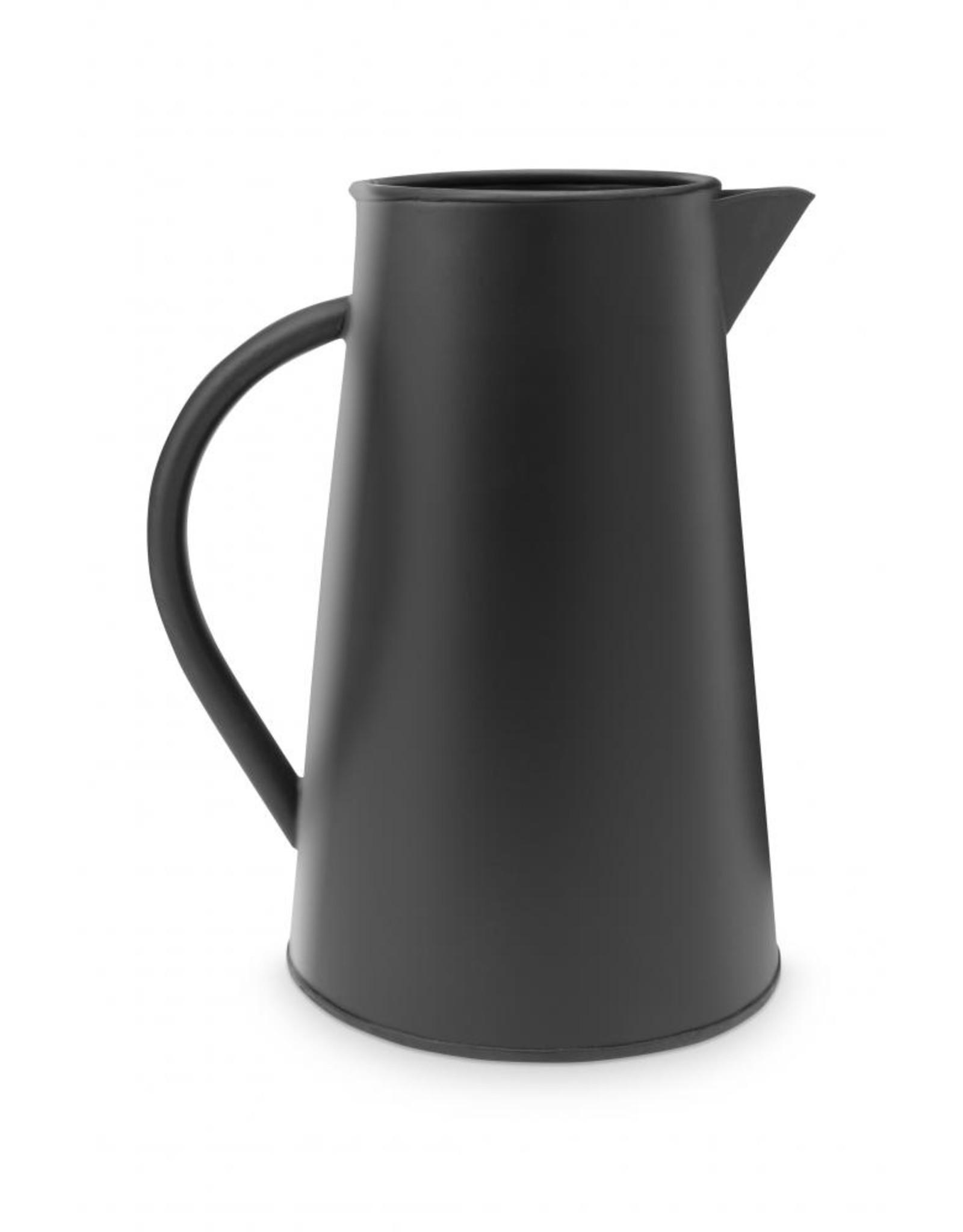 Decoratieve zwarte kan L