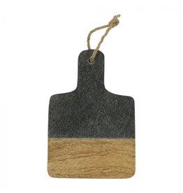 Serveerplank zwart marmer