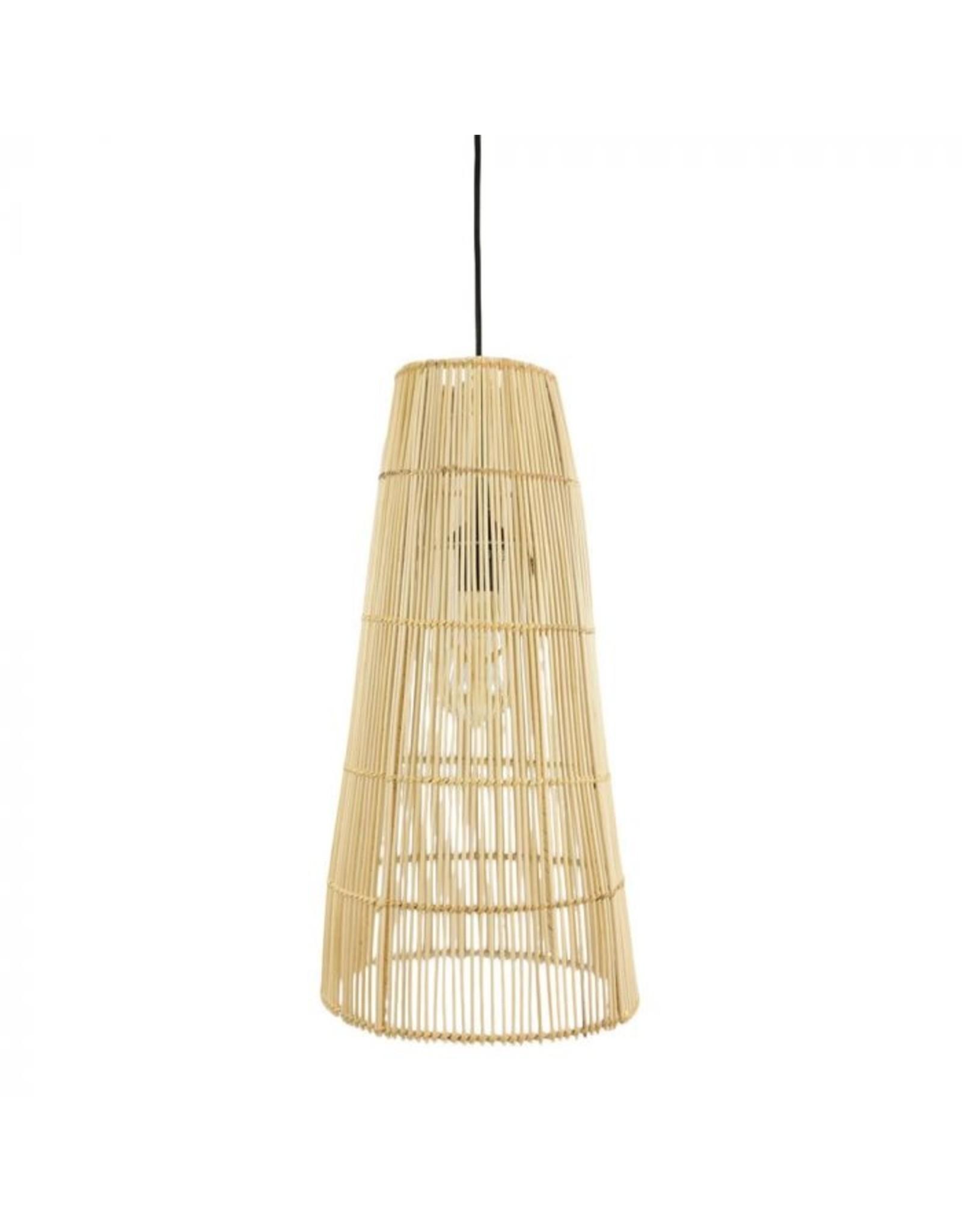 Rotan hanglamp lang