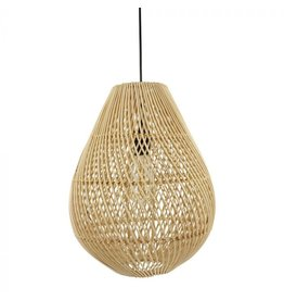 Rotan hanglamp druppel