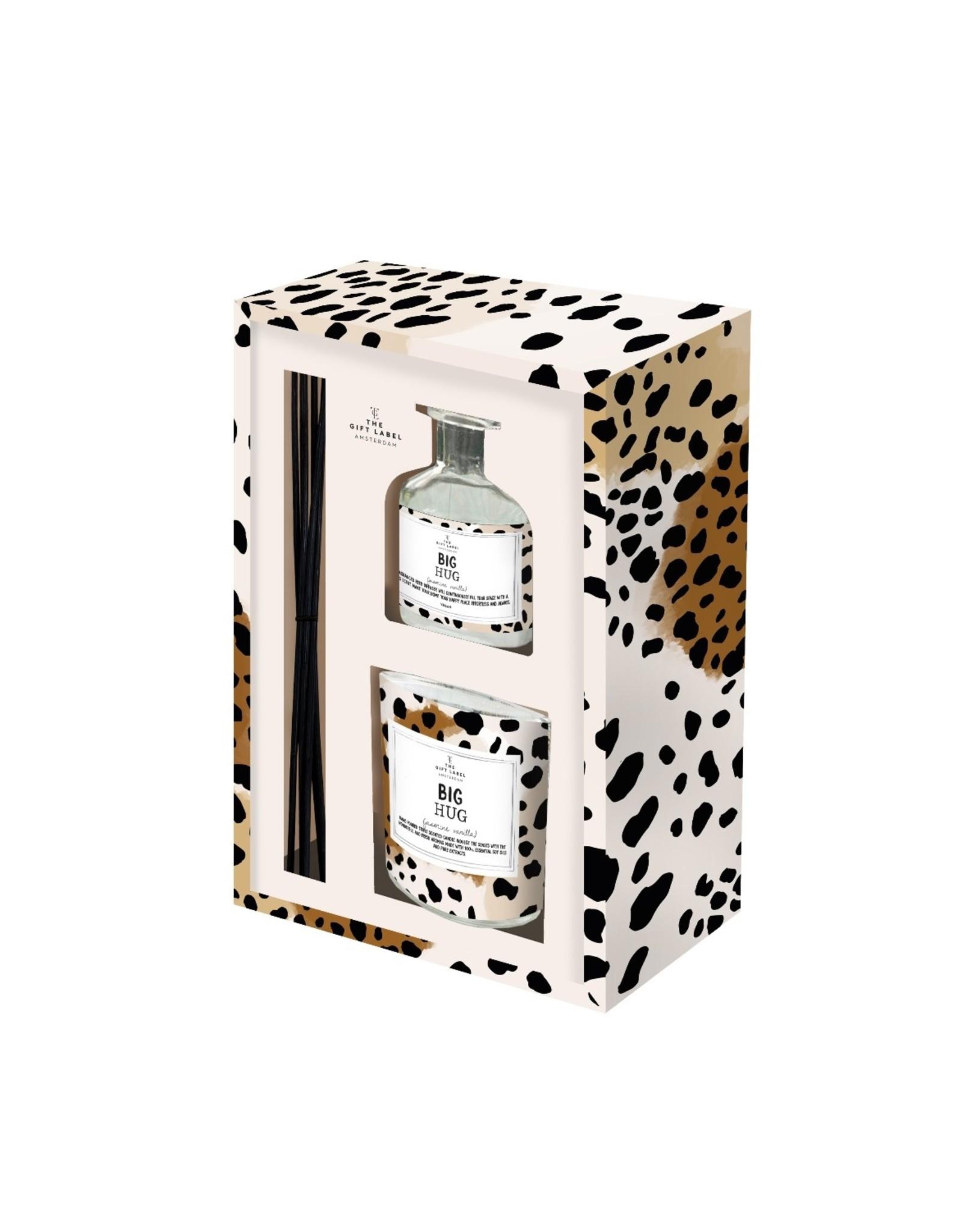 Gift box kaars & geurstokjes 'big hug'