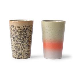 Set van 2 Tea mugs