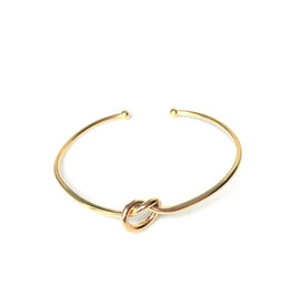 Armband bangle knoop