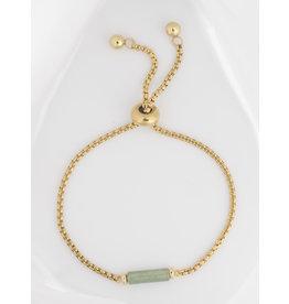 Armband buisje groen