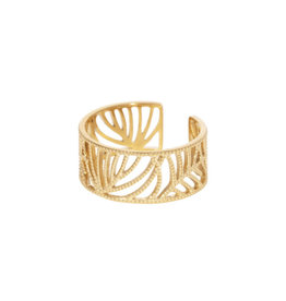 Opengewerkte fijne ring one size