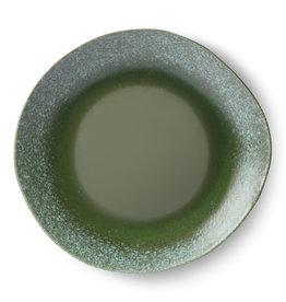 Set van 2 bord dinner plate green