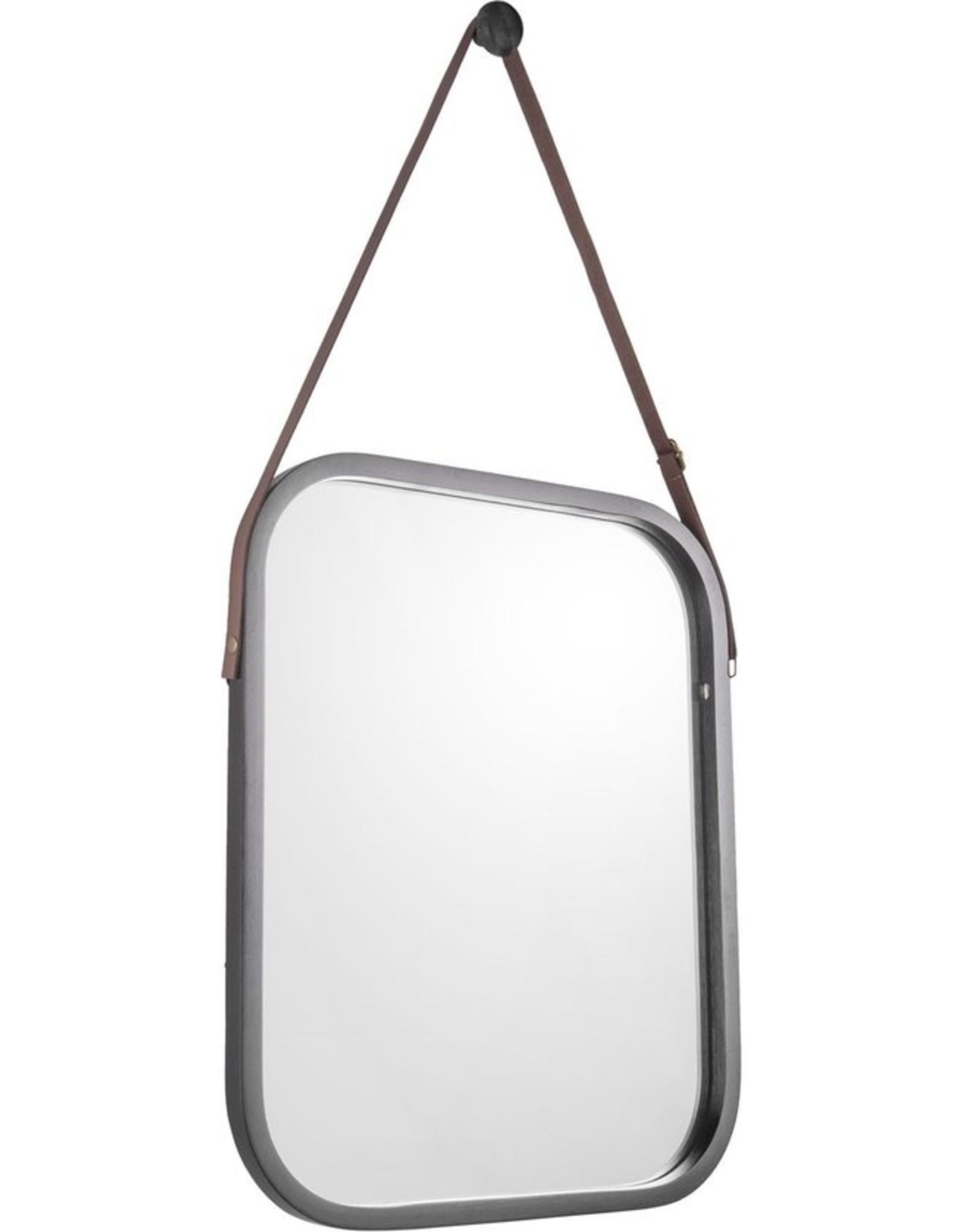 Spiegel zwart bamboo