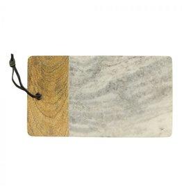 Serveerplank marmer grijs