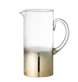Karaf glas goud