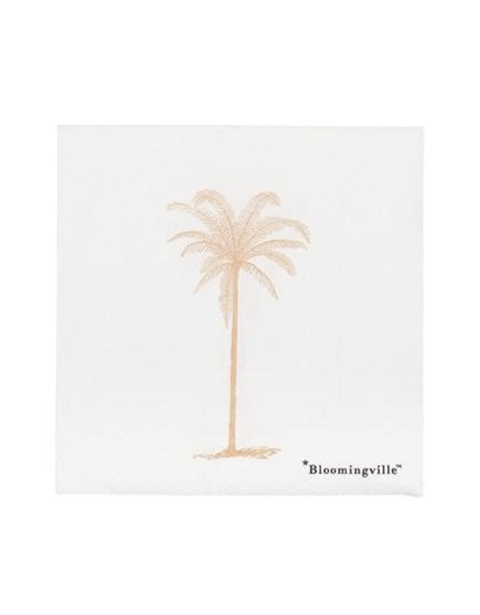 Servietten palm roze
