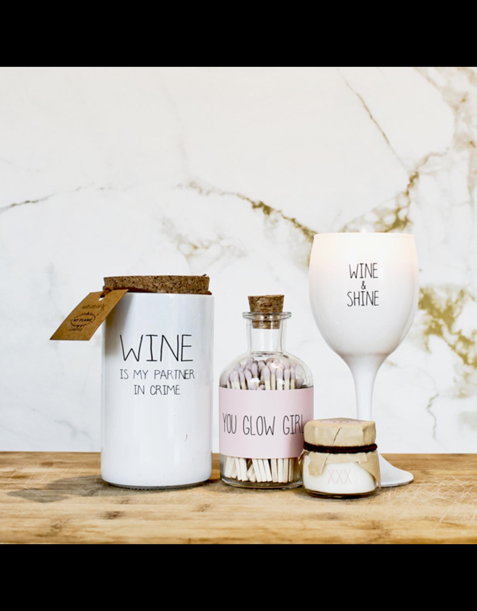 Geurkaars Wine and shine