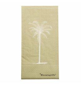Servietten palm groen
