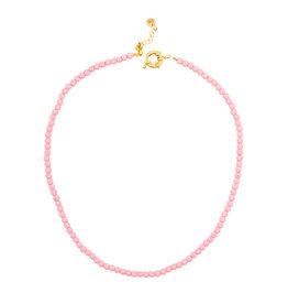 Ketting gemstone roze