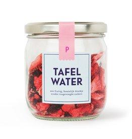 Tafelwater navulling Aardbei hibiscus