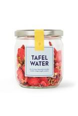 Tafelwater navulling Aardbei jasmijn korenbloem