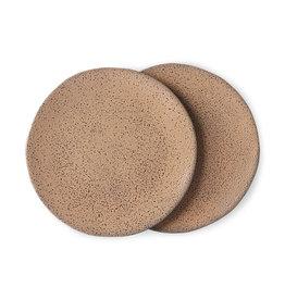 Set van 2 side plates taupe