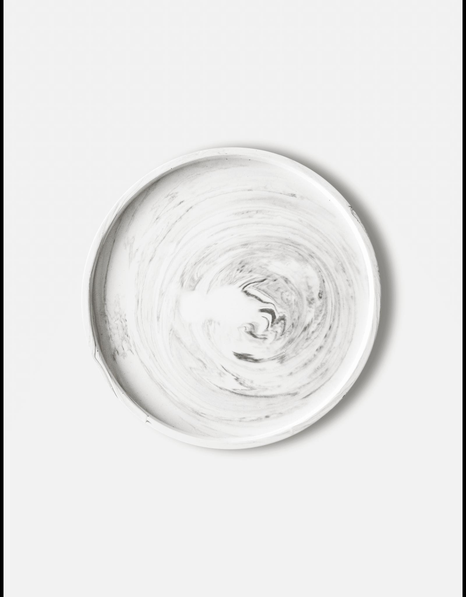 Onderzetter Vassaio White Marble 29cm