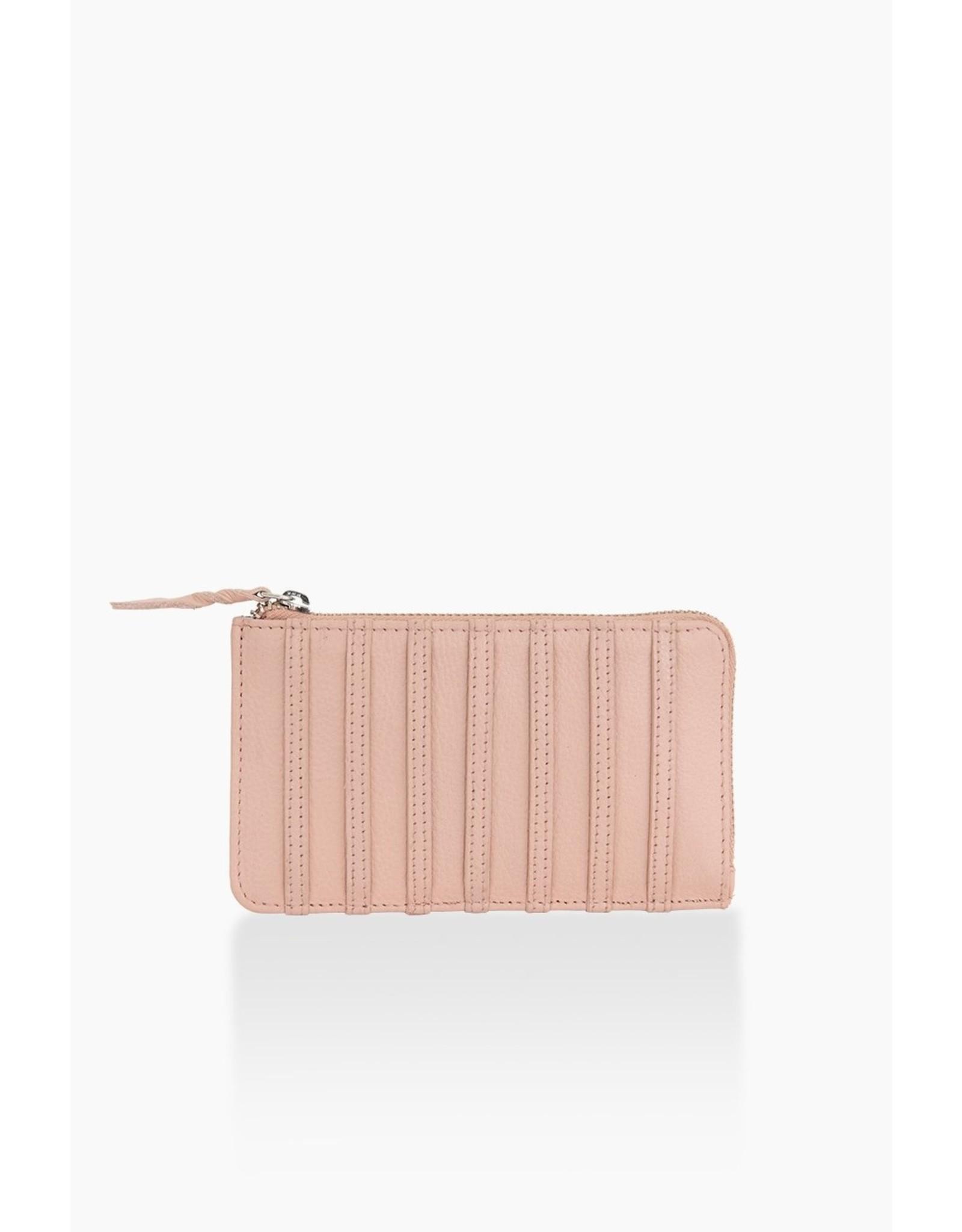 Portefeuille pink stripes