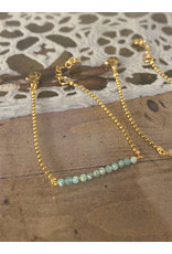 Armband fijne gemstones turquoise