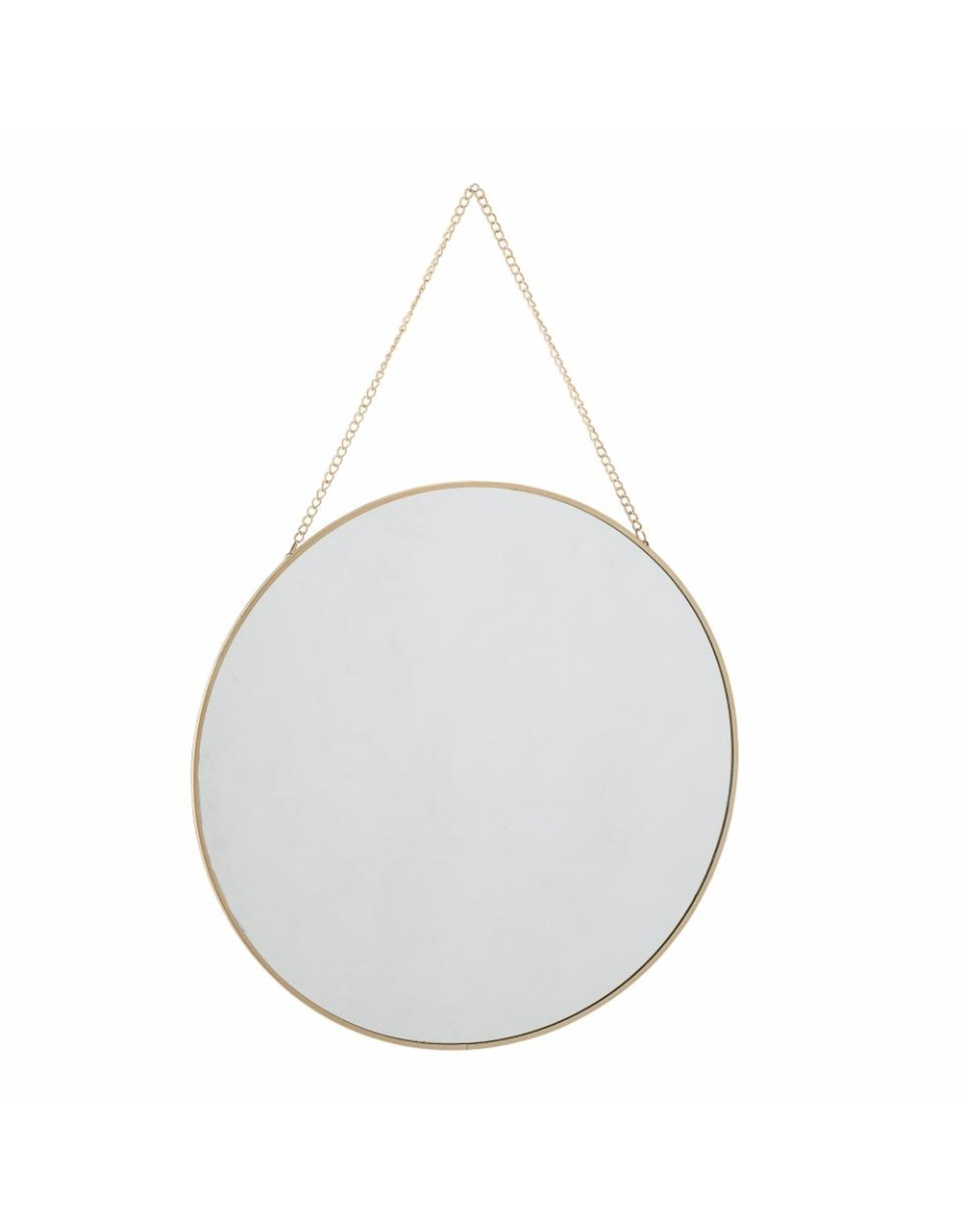 Spiegel goud ketting