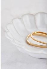 Bangle rectangle gold