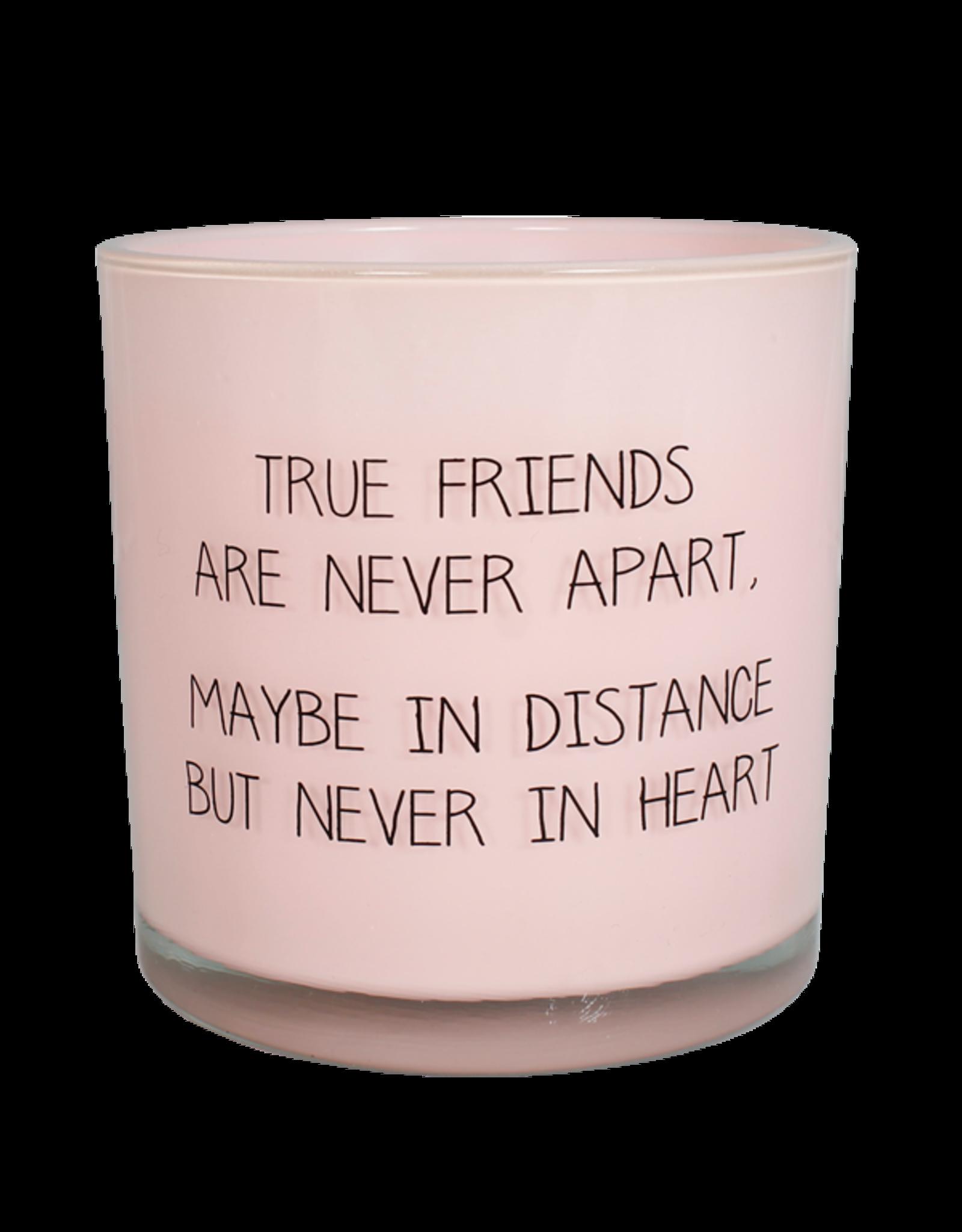 Geurkaars roze Friends