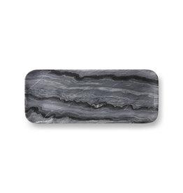 Dienblad grijs marmer