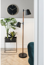 Plant pot black Straight M