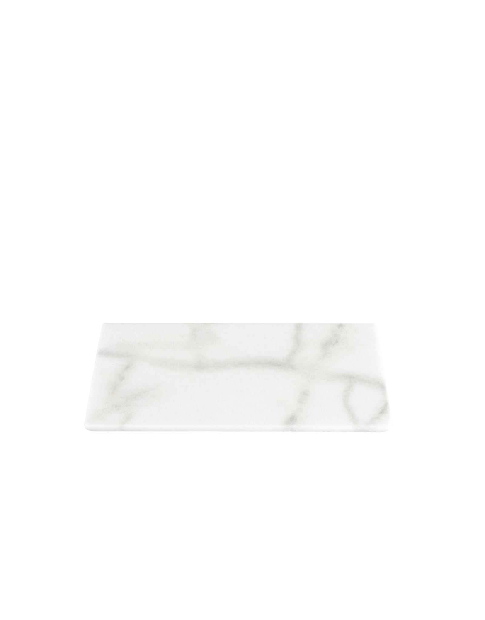 Serveerplank marmer wit