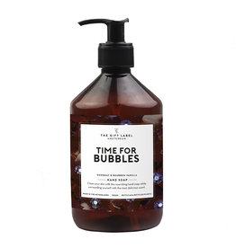 Handzeep Time for bubbles