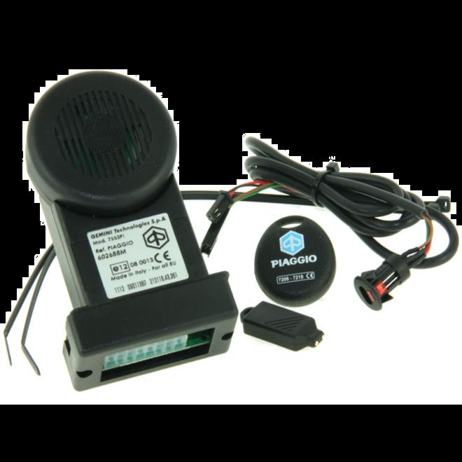 Alarm Piaggio E-lux Multifunctioneel met noodstroom