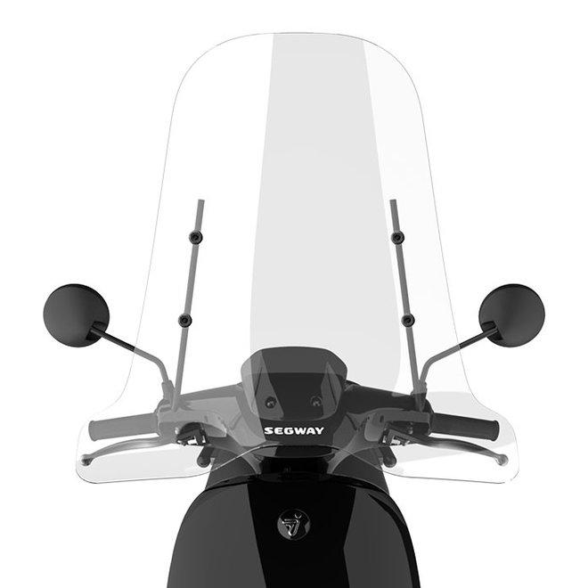 Windscherm transparant Segway E110SE E110S E125S zwart