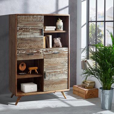 India - Reproduction Furniture Zen Acacia Cabinet
