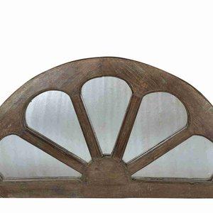 Arch Panelled Mirror