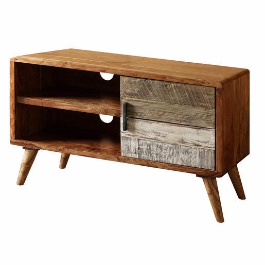 India - Reproduction Furniture Small Zen Acacia TV Cabinet