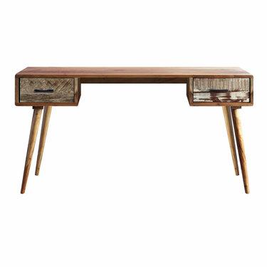 Trading Boundaries Small Zen Acacia Writing Desk