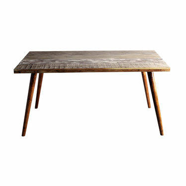 India - Reproduction Furniture Zen Acacia Dining Table - Medium
