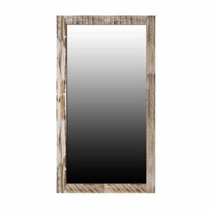 Large Zen Acacia Mirror