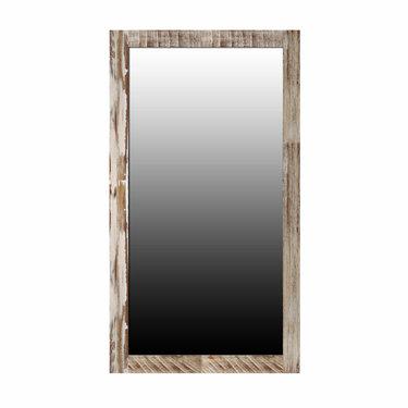 India - Reproduction Furniture Large Zen Acacia Mirror