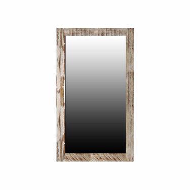 India - Reproduction Furniture Small Zen Acacia Mirror