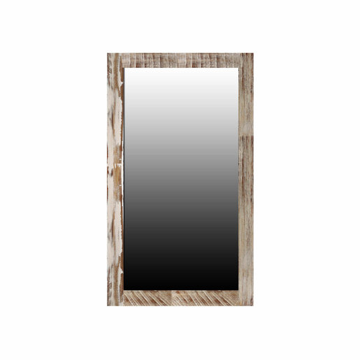 India - Reproduction Furniture Small Zen Acacia Mirror