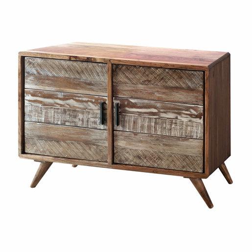 India - Reproduction Furniture Zen Acacia Small Sideboard
