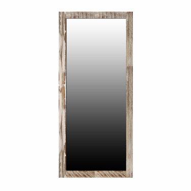 Trading Boundaries Zen Acacia Standing Mirror