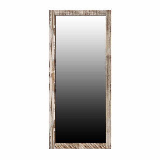 Trading Boundaries Zen Acacia Standing Mirror