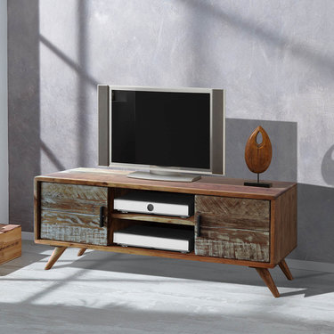 India - Reproduction Furniture Zen Acacia TV Cabinet