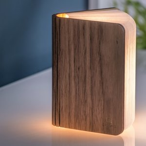 Large LED Smart Booklight - Walnut