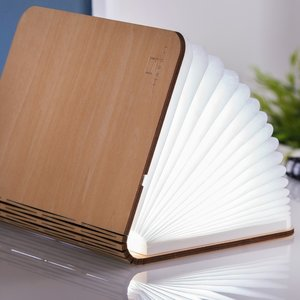 Large LED Smart Booklight - Maple