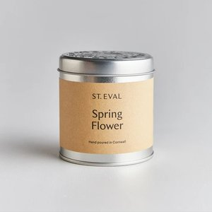 Spring Flower Candle